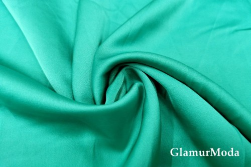 Армани шёлк однотонный цвета воды