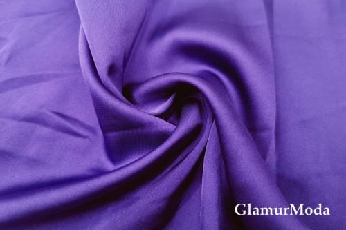 Армани шёлк однотонный фиолетового цвета
