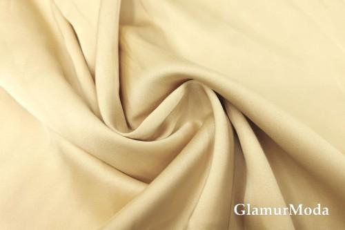 Армани шёлк однотонный ванильного цвета