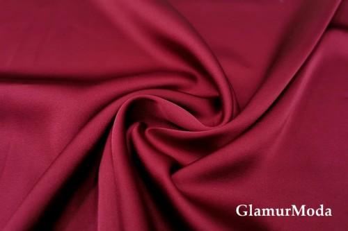 Армани шёлк однотонный цвета марсала