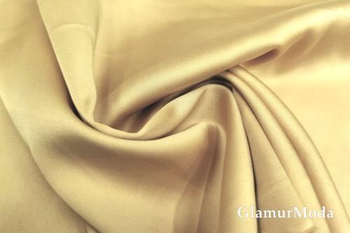 Армани шёлк однотонный цвета белое золото