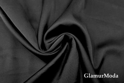 Армани шёлк однотонный черного цвета