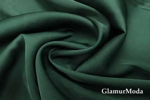 Армани шёлк однотонный изумрудного цвета