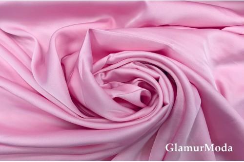 Армани шёлк однотонный розового цвета