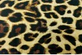 Армани шёлк Леопард на золотом, крупный рисунок