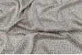 Армани шёлк светло-серый с белыми пятнышками