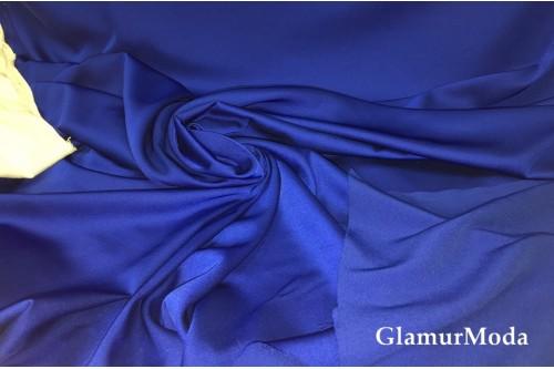Армани шёлк однотонный василькового цвета