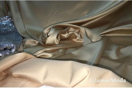 Армани шёлк однотонный цвета светлое золото