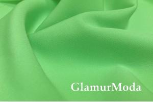 Костюмная ткань Барби, аркадный зеленый