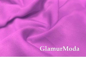 Костюмная ткань Барби фиолетового цвета