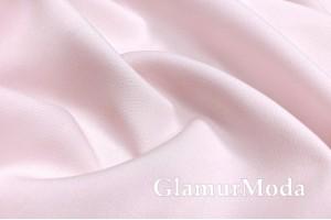 Костюмная ткань Барби нежно-розового цвета