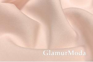 Костюмная ткань Барби светло-персикового цвета