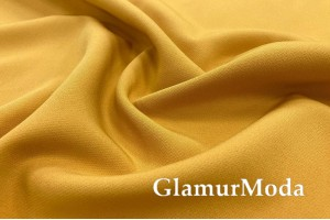 Костюмная ткань Барби, цвет желтый, арт. 116
