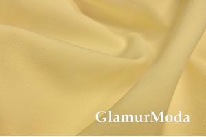 Костюмная ткань Барби цвета светло-золотого руна