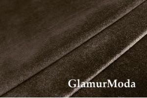 Бархат для штор темно-коричневого цвета 300 см, Китай
