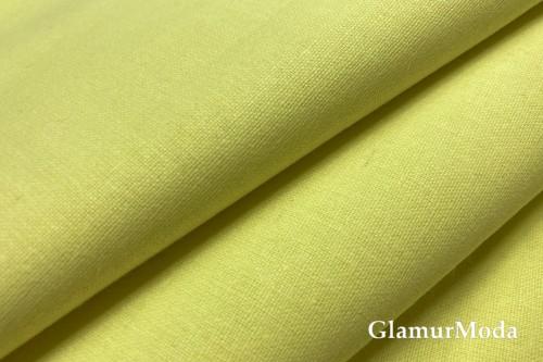 Бязь лимонного цвета, 220 см, Турция