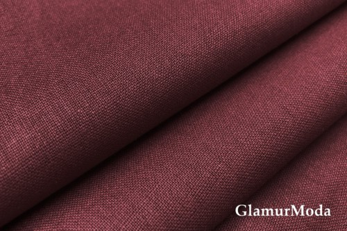 Бязь бордового цвета, 220 см, Турция