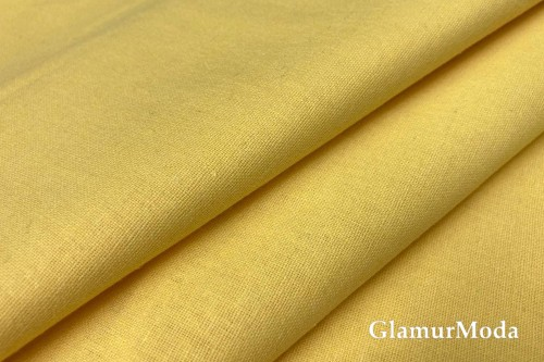 Бязь жёлтого цвета, 220 см, Турция