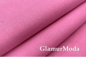 Бязь розового цвета, 220 см, Турция