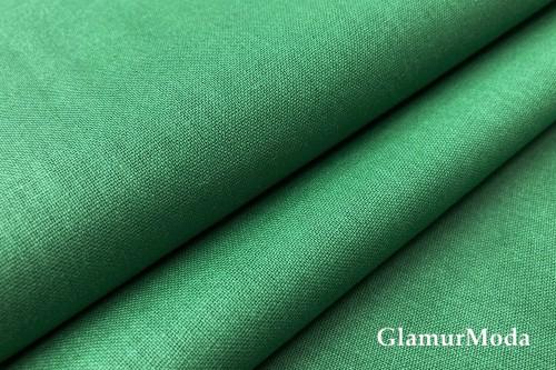 Бязь зелёного цвета, 220 см, Турция