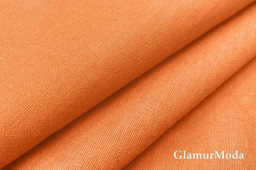 Бязь оранжевого цвета, 220 см, Турция
