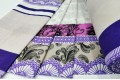 Бязь 220 см, Орнамент, розовый, фиолетовый, бежевый цвет, Турция
