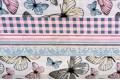 Бязь 220 см, бабочки дизайн 2, Турция