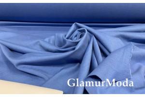 Трикотаж Джерси (Нейлон Рома) тёмно-голубого цвета 600 гр/м