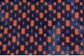 Джинса перфорированная на  трикотажной подкладке 1163-3