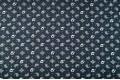 Джинсовая ткань огурцы на иссиня-черном фоне