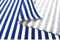 Джинсовая ткань белая и синяя полоска
