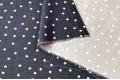 Джинс сорочечный звездочки на темно-синем фоне