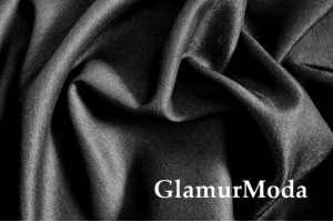Джинс сорочечный, черного цвета