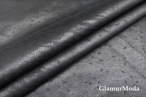 Дубленка на меху черного цвета