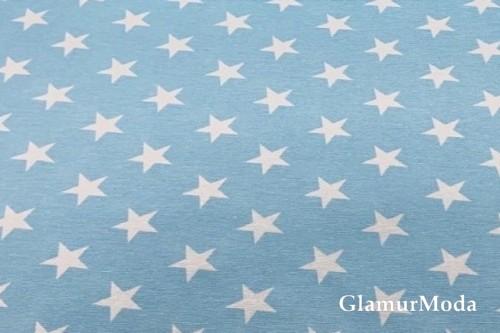 Дак (DUCK) звездочки на голубом фоне