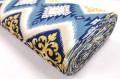 Дак (DUCK) сине-жёлтый орнамент, 180 см