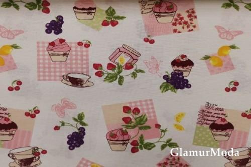 Дак (DUCK) Пирожные, розовый цвет, 180 см