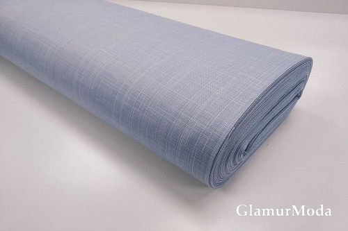 Дак (DUCK) меланж голубого цвета