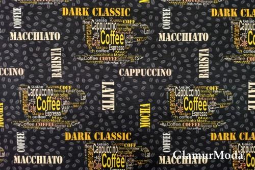 Дак (DUCK) кофе на черном