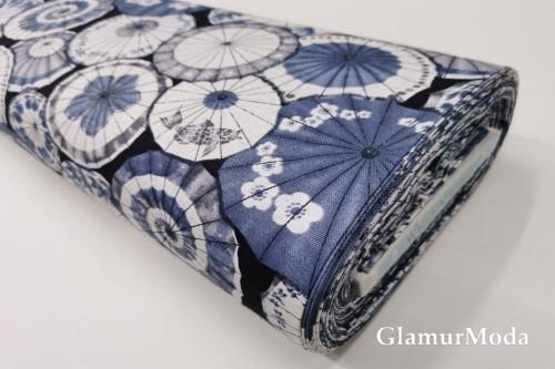 Дак (DUCK) китайские зонтики, голубой цвет