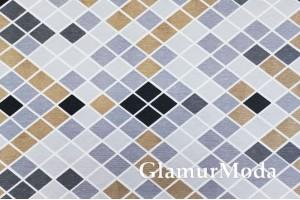 Дак (DUCK) мозаика серо-бежевая