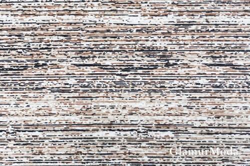 Дак (DUCK) абстракция полосы серо-коричневые