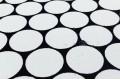 Дак (DUCK) белые круги на черном фоне