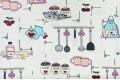 Дак (DUCK) кухонные принадлежности на сливочном фоне