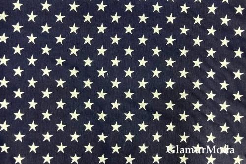Дак (DUCK) звезды на темно-синем фоне, 180 см