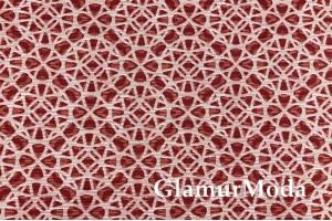 Дак (DUCK) Круги на красном фоне, 180 см