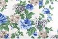 Дак (DUCK) голубые цветы на молочном фоне (SABAEV)
