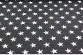 Дак (DUCK) звезды на черном фоне, 180 см