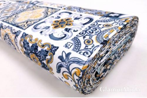 Дак (DUCK) сине-жёлтая плитка, 180 см