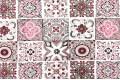 Дак (DUCK) розово-коричневая плитка, 180 см